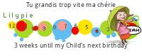 tickers Lilypie d'anniversaire d'enfants