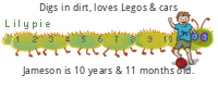 Lilypie Kids Birthday (5qpc)