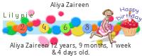 Lilypie Kids Birthday (7D1S)
