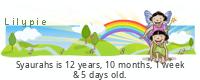 Lilypie Kids Birthday (CvCA)