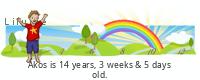 Lilypie Kids Birthday (HEG7)