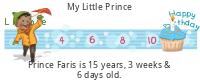 Lilypie Kids Birthday (Kufi)