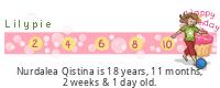 Lilypie Kids Birthday (L2Rs)