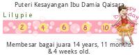 Lilypie Kids Birthday (LIOV)