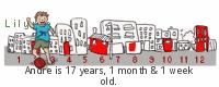Lilypie Kids Birthday (OwFj)