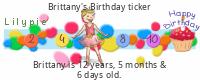 Lilypie Kids Birthday (P7SI)