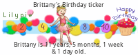 Lilypie Kids Birthday (P7SI)