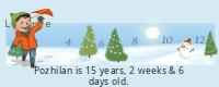 Lilypie Kids Birthday (Xp6u)