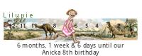 Lilypie 8th Birthday Ticker