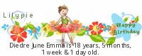 Lilypie Kids Birthday (plkG)